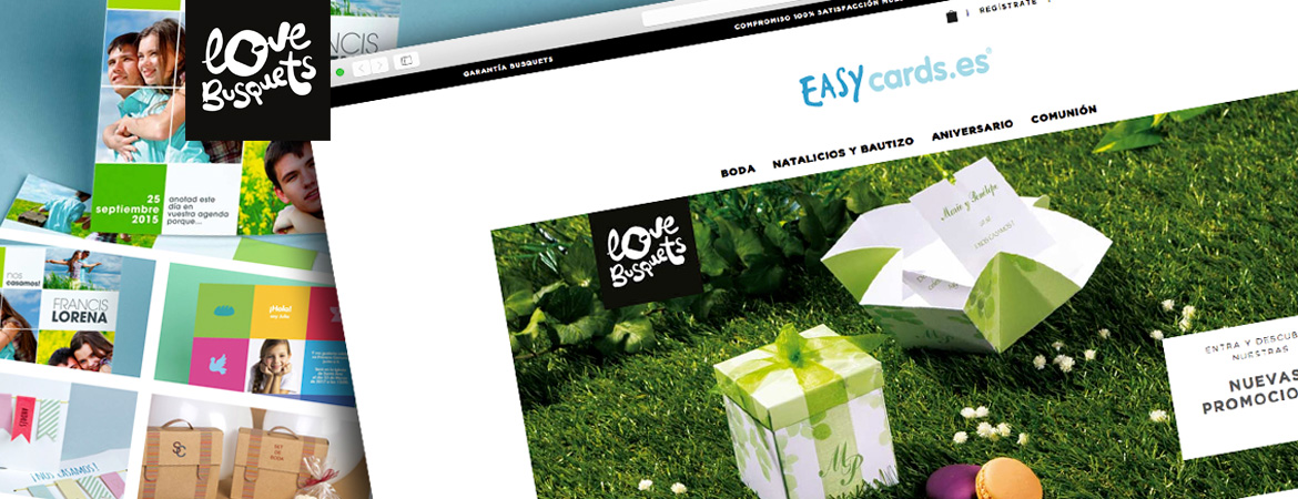 Invitacions Easycards